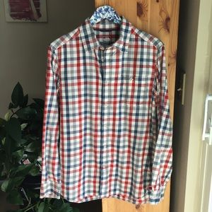 The North Face Button Down Shirt, Size Medium